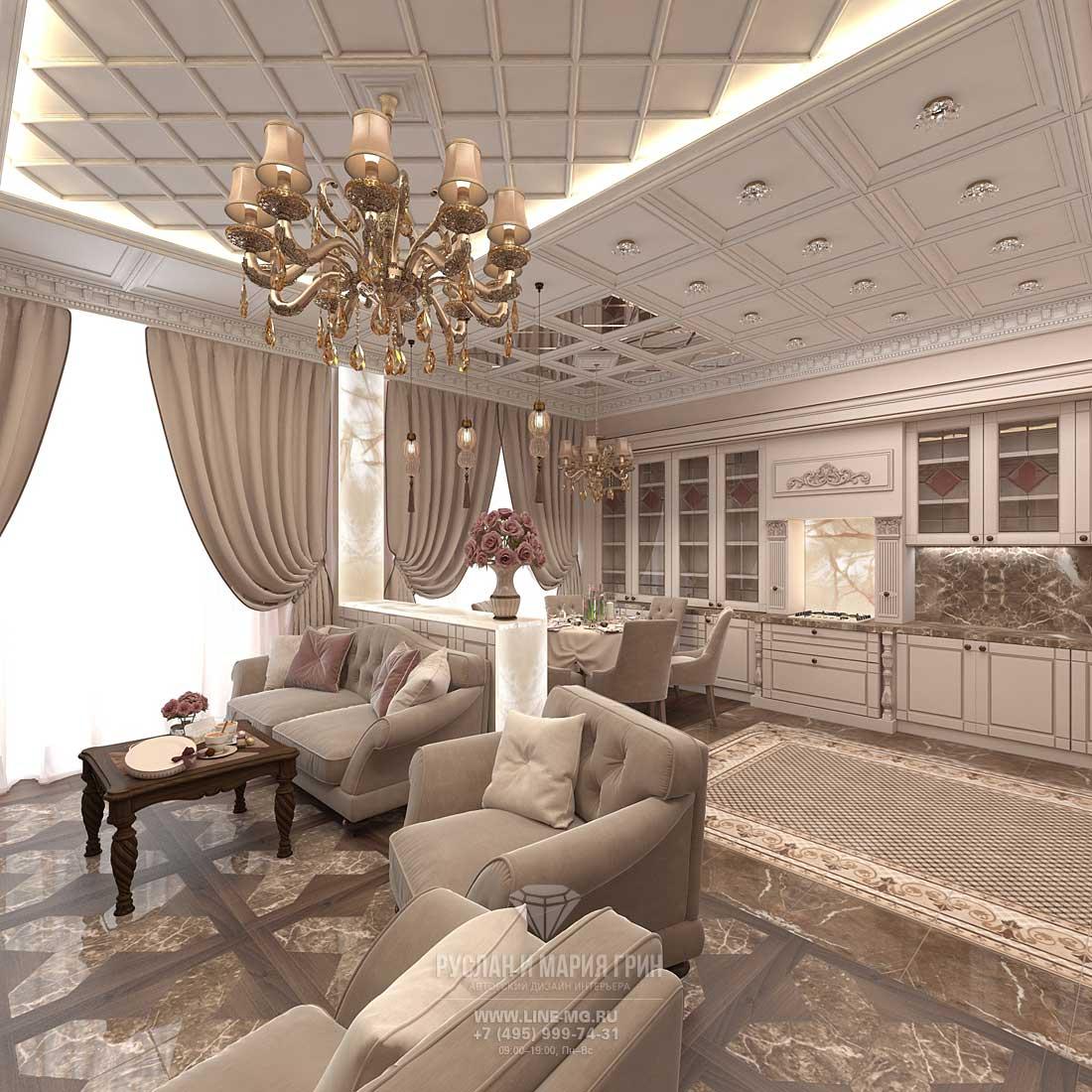красивые комнаты в частном доме интерьер гостиной в частном доме