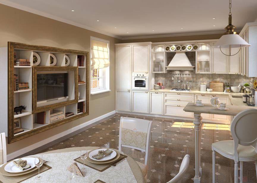 Arten der Küche Fayence Vorteile. Wie wählt man die Farbe der ...