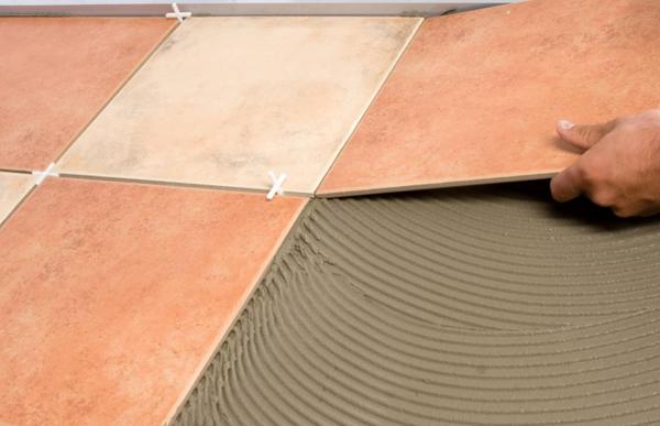Wie Man Keramikgranit Auf Den Boden Bringt Keramikgranit Mit - Fliesen kaliber