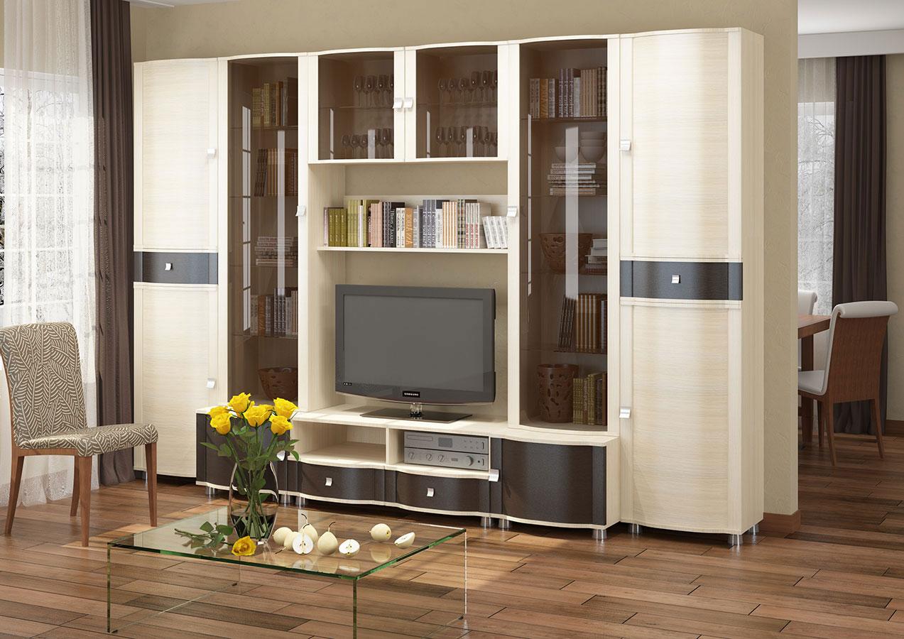 мебельная горка в гостиную мини горки компактная мебель красивая